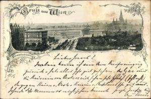 Ak Wien 1, Franzensring, Panorama