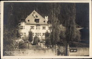 Ak  Zillertal Tirol, Schloss Stumm, Außenansicht