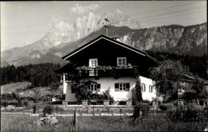 Ak Wilder Kaiser in Tirol, Haus Horngacher, St. Johann, Totalansicht