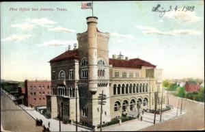 Ak San Antonio Texas USA, Post Office, general view