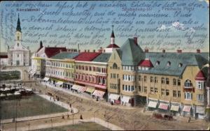 Ak Kecskemét Ketschkemet Ungarn, Szabadság tér, Freiheitsplatz