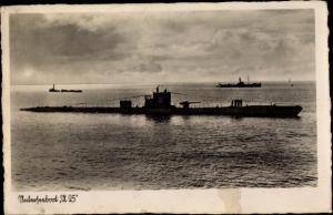 Ak Unterseeboot U25