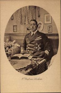 Ak Kommandant Felix Graf von Luckner, SMS Seeadler, Pfeife