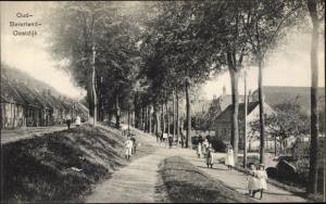 Ak Oud Beijerland Südholland, Stadtpartie