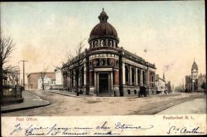 Ak Pawtucket Rhode Island USA, Post Office