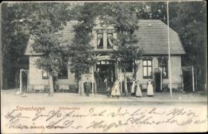 Ak Reuterstadt Stavenhagen, Schützenhaus