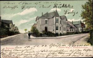 Ak Bad Doberan Mecklenburg Vorpommern, Althöfer Weg und Friedrich Franzstraße