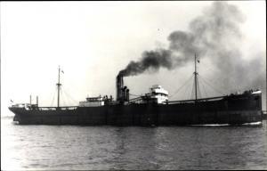 Ak Frachtschiff Elise Schulte, Schulte & Bruns Atlantic Schifffahrtsgesellschaft AG, Bremen