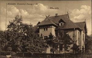 Ak Coswig in Sachsen, Heilstätte Lindenhof, Albertvilla