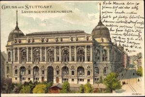 Litho Stuttgart in Baden Württemberg, Landesgewerbemuseum