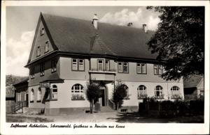Ak Aichhalden im Schwarzwald, Gasthaus und Pension zur Krone
