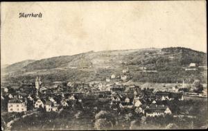 Ak Murrhardt Baden Württemberg, Gesamtansicht der Stadt mit Umgebung