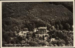 Ak Bad Urach in der Schwäbischen Alb, Sanitätsrat Dr. Klüpfel Sanatorium Hochberg, Fliegeraufnahme