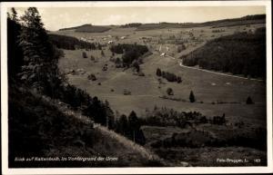 Ak Raitenbuch Lenzkirch Baden Württemberg, Im Vordergrund der Ursee, Panoramaansicht