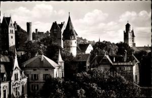 Ak Ravensburg Oberschwaben, Die Stadt der Türme und Tore, Blick über die Dächer der Stadt