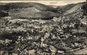 Ak Bad Liebenzell im Schwarzwald, Panoramaansicht von Ortschaft
