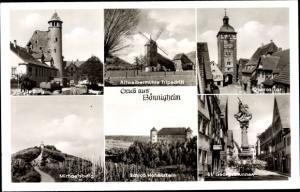 Ak Bönnigheim, Alte Burg, Altweibermühle Tripsdrill, Oberes Tor, Michaelsberg, Schloss Hohenstein