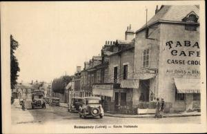 Ak Beaugency Loiret, Route Nationale