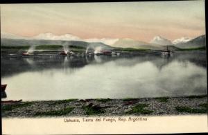 Ak Tierra del Fuego Feuerland Argentinien, Ushuaia
