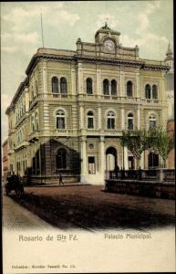 Ak Rosario de Santa Fé Argentinien, Palacio Municipal