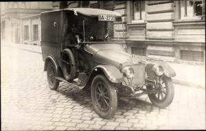 Foto Ak Automobil, Kennzeichen IIA 2739, Chauffeur