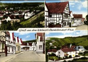 Ak Dollendorf Königswinter am Rhein, Dorfpartie, Teilansicht
