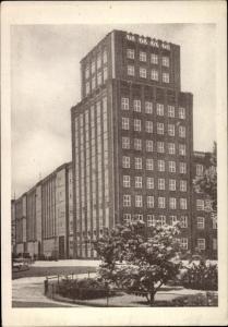 Ak Wrocław Breslau Schlesien, Postscheckamt