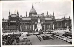Ak Budapest Ungarn, Szent Istvan Jubileumi Ev