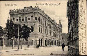 Ak Szombathely Ungarn, Szabaria kavehaz