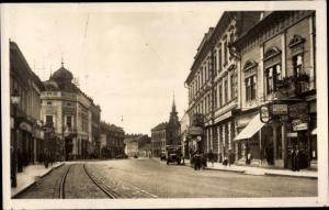 Ak Miskolc Mischkolz Ungarn, Szechenyi utc
