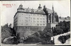 Ak Altenburg in Thüringen, Schloss