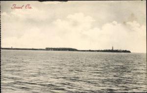 Ak Greifswalder Oie Kröslin Mecklenburg Vorpommern, Blick zur Insel