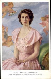 Künstler Ak Williams, Margaret Lindsay, Princess Elizabeth, Portrait