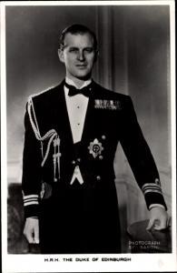 Ak Prince Philip, Duke of Edinburgh, Portrait