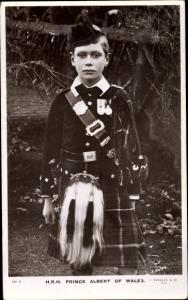 Ak Prince Albert of Wales, Portrait, Kilt