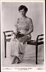 Ak Princess Mary, Portrait