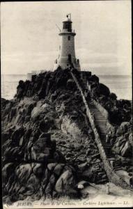 Ak Kanalinsel Jersey, Phare de la Corbiere, Corbiere Lighthouse