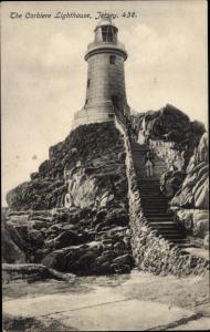 Ak Kanalinsel Jersey, The Corbiere Lighthouse