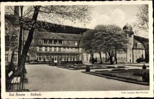Ak Duszniki Zdrój Bad Reinerz Schlesien, Kurhaus, Totalansicht