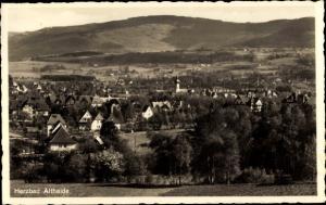 Ak Polanica Zdrój Bad Altheide Schlesien, Gesamtansicht vom Ort