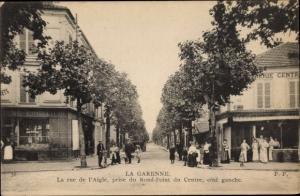 Ak La Garenne Colombes Hauts de Seine, La Rue de l'Aigle