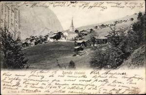 Ak Randa Wallis Schweiz, Panorama