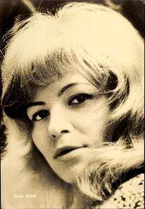 Ak Schauspielerin Irena Karel, Portrait