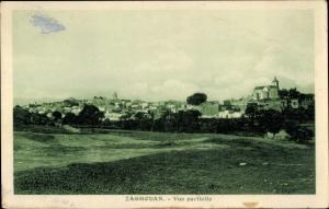 Ak Zaghouan Tunesien, Vue partielle, Teilansicht, Stadtpanorama