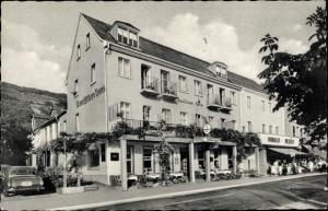 Ak Kamp Bornhofen Rheinland Pfalz, Hotel Deutsches Haus, Bes. Karl Kimmel
