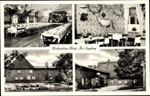 Ak Klint Heidmühlen, Gasthaus Hans Pohlmann