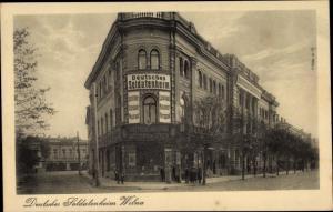 Ak Vilnius Wilna Litauen, Deutsches Soldatenheim