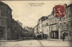 Ak Commercy Lothringen Meuse, Rue Bas de la Place