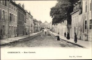 Ak Commercy Lothringen Meuse, Rue Carnot