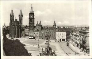 Ak Hradec Králové Königgrätz Stadt, Großer Ring